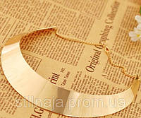 Ожерелье металл золото, фото 1