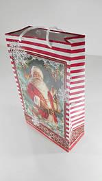 Пакет бумажный подарочный Новый Год
