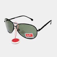 Солнцезащитные очки Ray Ban Aviator Polarized, капли ( Рей Бен Авиатор ) с поляризацией , Киев