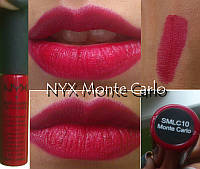 Жидкая матовая губная помада NYX Soft Matte Lip Cream smlc 10 Monte Carlo