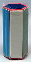 Баф шестигранник на пластмассовой основе, баф полировочный YRE BF-03