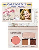 палетка для макияжа Autobalm California от The Balm
