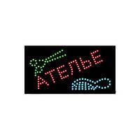Табличка светодиодная АТЕЛЬЕ55x35 см
