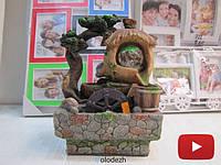 Декоративный фонтан водопад дерево бонсай. Артикул 2808