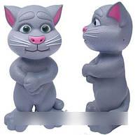 Кот Том интерактивный повторюшка-сказочник, арт. LX 771 S (серый)