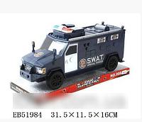 Грузовик SWAT инерционный 999-067С