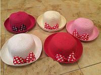 Панамки детские оптом. Летняя шляпа для девочки
