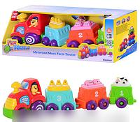 Игровой набор Wow toys 10160  Уборочная машина Стенли  подвижные детали, фигурка в кор-ке, 28,5-18,5-11,5см