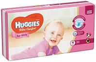 Подгузники Huggies Ultra Comfort 4 (7-16 кг) для девочек 50 шт., фото 1