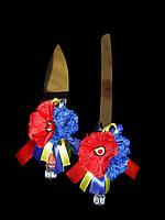 """Нож и лопатка """"Украинка"""""""