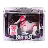 Кибер-пес КИ КИ 2089, интерактивная игрушка, радиоуправляемая собака, Собака робот кики 2079