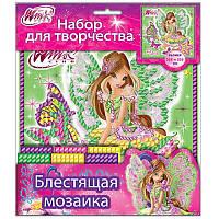 Набор для творчества блестящая мозаика 5550-03 «Флора.7 Винкс» 13159064Р