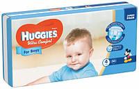 Подгузники Huggies Ultra Comfort 4 (8-14 кг) для мальчика 50 шт.