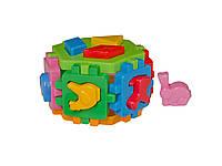 Развивающая игрушка куб  умный малыш Гексакон 1 технок 1981 IU