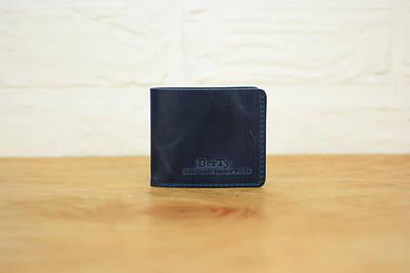 Классическое портмоне «Компакт»  10202  Синий