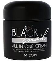 "Mizon, Черная улитка, крем ""все в одном"" 75 мл, Black Snail, All In One Cream"
