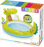 Надувной бассейн Intex 57431 Крокодил HN