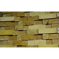 Стеновая панель из дерева 3D ECO BRIGHT