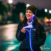 Светящиеся Наушники LIGHT EARPHONE GLOW с EL свечением (POWER4)