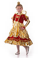 Детский костюм Королева в золоте