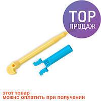 Большой пластиковый крючок для плетения резиночек / Аксессуары для плетения браслетов