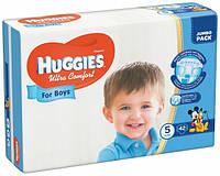 Подгузники Huggies Ultra Comfort 5 (12-22 кг) для мальика 42 шт., фото 1