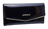 Кожаный женский кошелек BC35 black