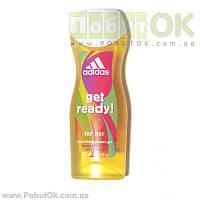 Шампунь Adidas Get Ready! For Her 250 Мл (Код:0960) Состояние: НОВОЕ