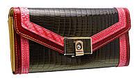 Кожаный женский кошелек AE450 green