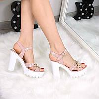 Босоножки женские Freya пудра 3302, сандалии женские