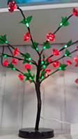 Светодиодное дерево Цветущая Яблоня, 60 см, уличное