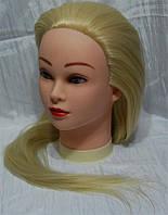 Учебная голова-манекен с искусственным термостойким волосам YRE-80-HT HT613 YRE