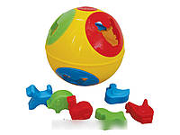 Развивающая игрушка Умный малыш Шар 2 ТехноК 3237 IU
