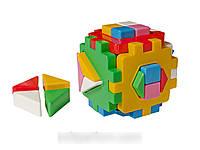 Развивающая игрушка Куб Умный малыш Логика 2 ТехноК 2469 IU