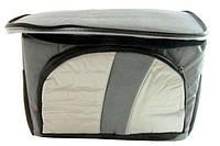 Термосумка COOLER BAG 377-A на 4л, Gray