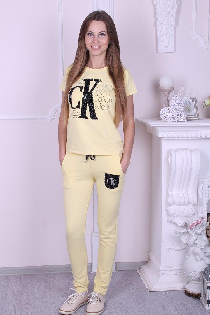 Спортивный костюм женский трикотажный  Calvin Klein реплика