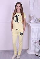 Спортивный костюм женский трикотажный  Calvin Klein реплика, фото 1