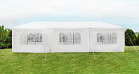 Павильон, Палатка, Навес для свадеб, мероприятий 3х9м 8 стенок Белый