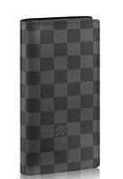 Мужской кошелек Louis Vuitton Lv60015 черный