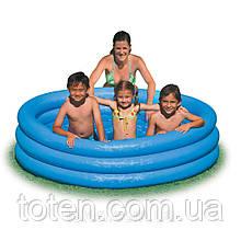 Бассейн надувной  детский Intex 59416 Кристал, 114 х 25 см