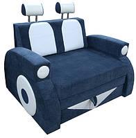 Раскладной детский диванчик машинка Фаэтон с подлокотниками