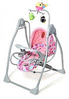 Детская колыбель-качели Baby Tilly RB-782 PINK КК