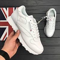 Мужские кроссовки Reebok Classic Leather White