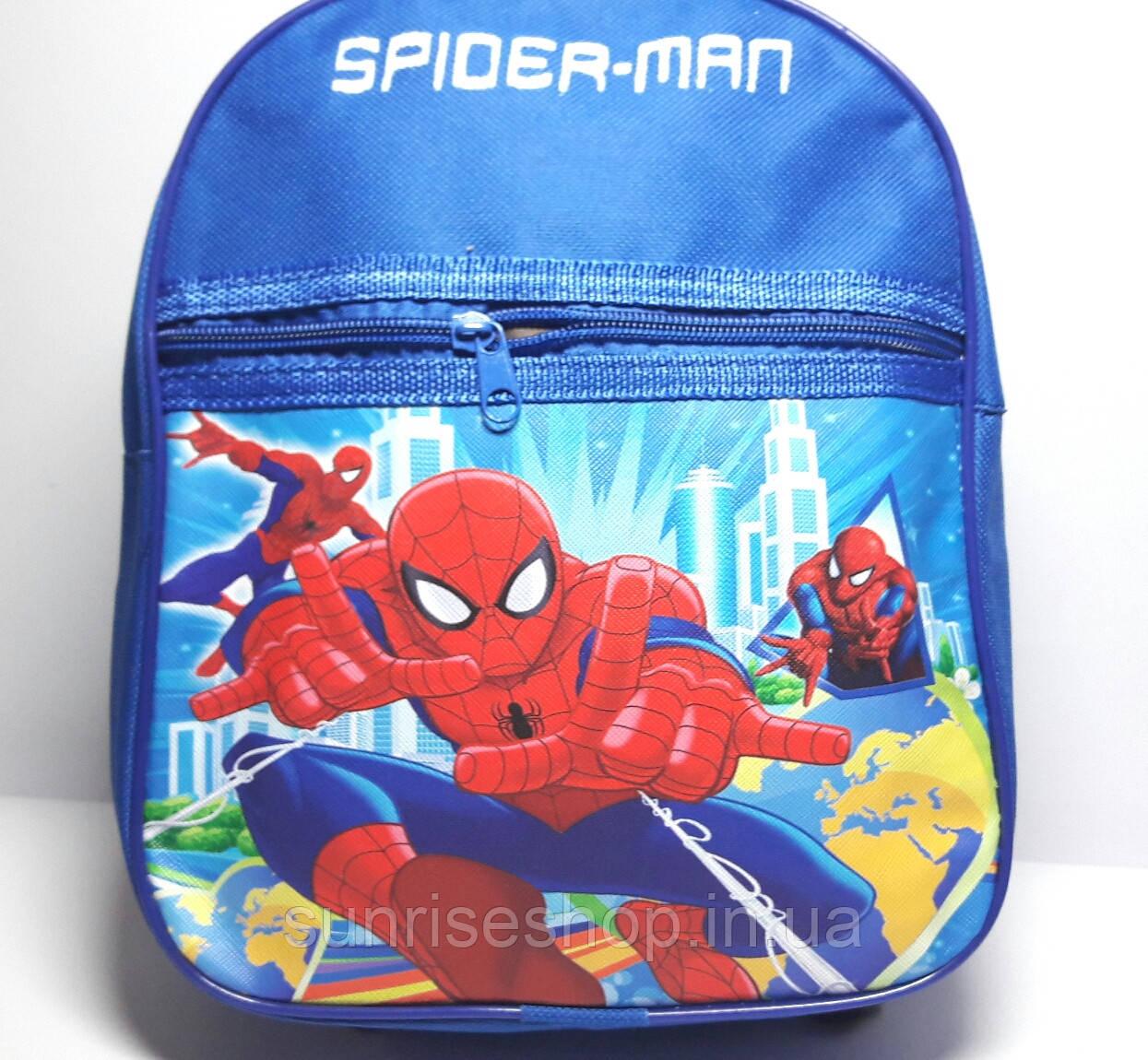 """Рюкзак для хлопчика """"Людина Павук"""""""