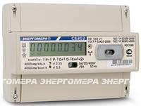 Электросчетчик Энергомера CE 302 R31 745 JY 5(60)А, 3 фазный, 230/400 В, ЖКИ двунаправленный