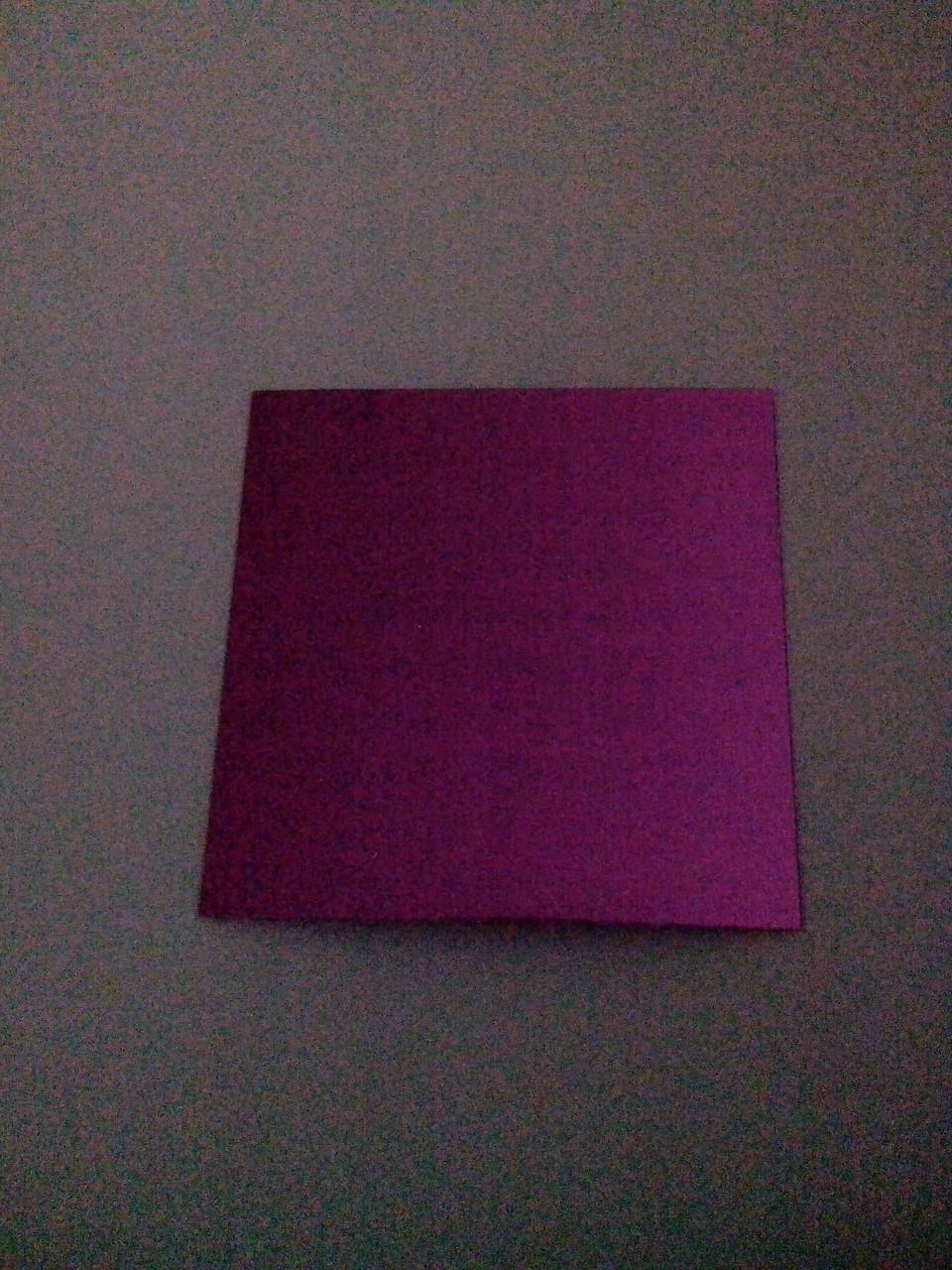 Подложка  под торт 10*10 фиолетовая (код 02815)