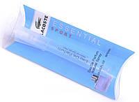 Карандаш-спрей 8 мл Мужская туалетная вода Lacoste Essential Sport Pour Homme, Лакост Эссеншиал Спорт