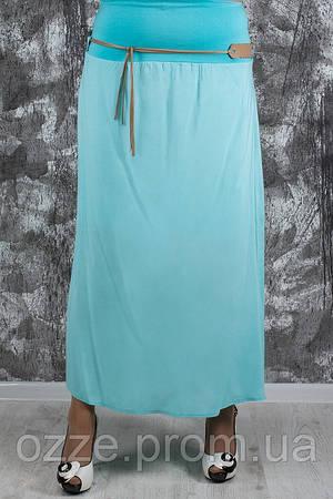 Женская летняя юбка больших рамеров