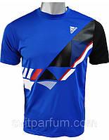 Мужская футболка Adidas из полиэстера, магазин одежды, футболки Харьков, V-e_5D1, красивые футболки