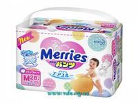 Трусики Merries   M (6-10 кг), 28шт